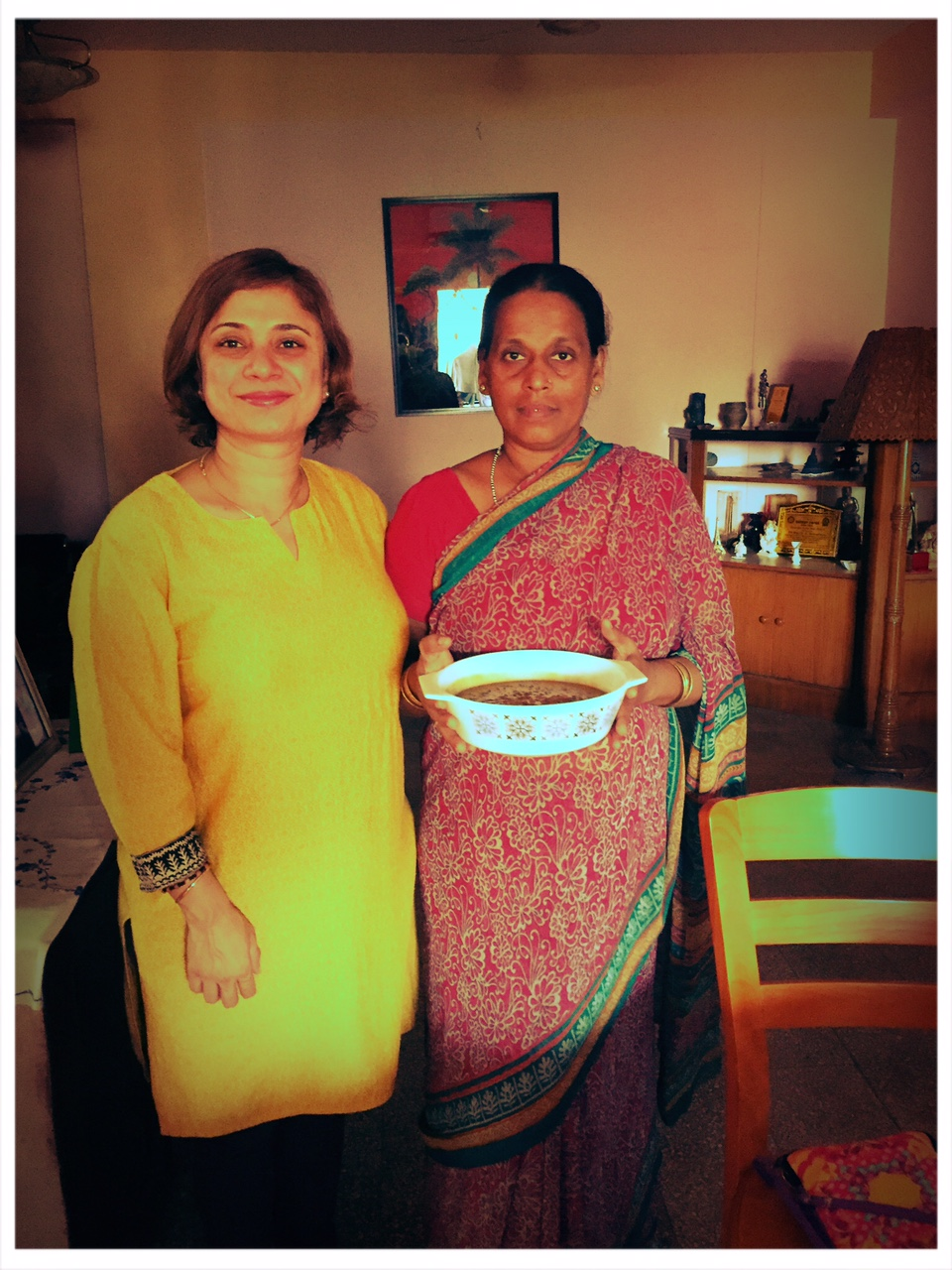Ayurvedic cooking workshop for underprivileged women