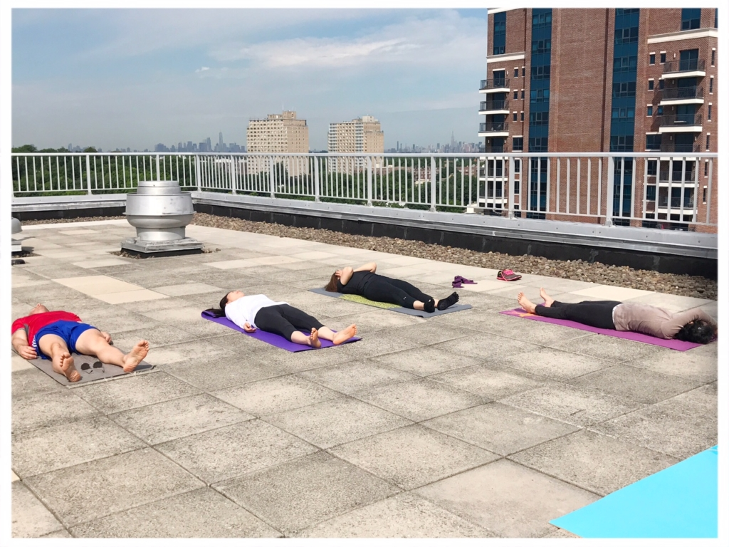 International Yoga Day (Rooftop yoga)