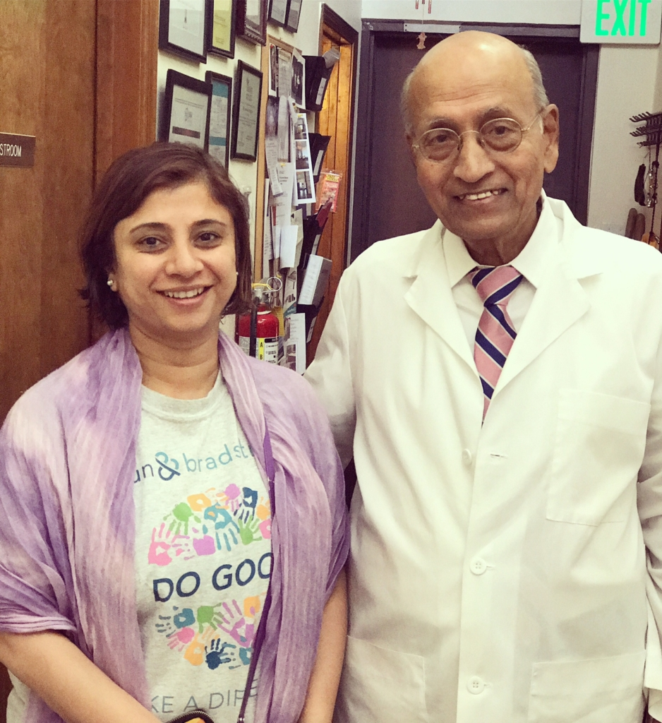 With Dr. Vasant Lad at The Ayurvedic Institute, New Mexico