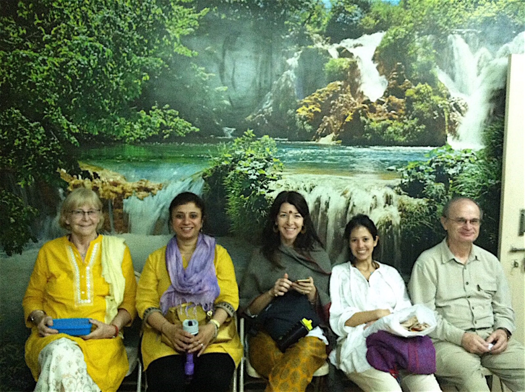 At Dr. Vasant Lad's Ayurvedic Clinic in Pune