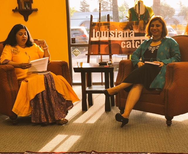 Talking about mental health, mindfulness, and creativity with Vandana Kumar—publisher of India Currents Magazine, India.