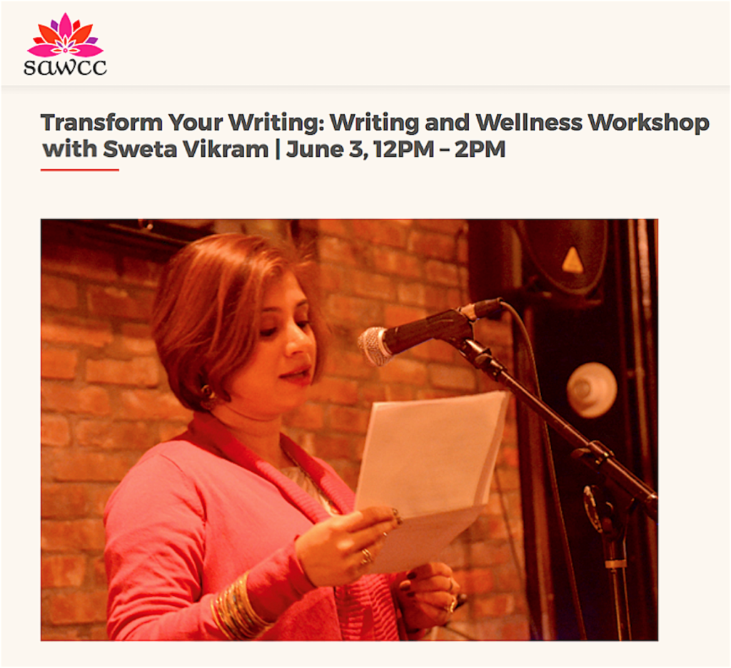 SAWCC Salon: Writing and Wellness